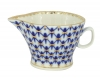 Russian Porcelain Gravy Boat Youth Cobalt Net 5.1 fl.oz/150 ml