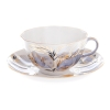 Imperial Porcelain Tea Set Cup and Saucer Tulip Moonlight 8.45 oz/250 ml
