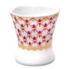 Lomonosov Porcelain Red Net Egg Holder Cup
