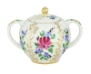 Lomonosov Imperial Porcelaine Sugar Bowl Tulip Golden Grasses 15 oz/450 ml