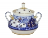 Lomonosov Imperial Porcelain Sugar Bowl Church Bells 10 oz/300 ml