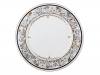 "Lomonosov Imperial Porcelaine Dinner Plate Cake Platter European-2 Russian Modern 12.6""/320 mm"