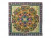 "Lomonosov Russian Gift Set 100% Silk Scarf 35x35"" Gothic Style #9"