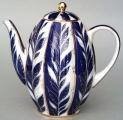 Lomonosov Imperial Porcelain 8-Cup Coffee Pot Winter Night 40 oz/1200 ml