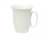Imperial Porcelain Bone China Porcelain Mug Opened White 14.5 fl.oz/430 ml