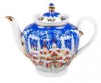 Lomonosov Imperial Porcelain Tea Pot Spring Winter Fairytale 27 oz/800 ml