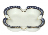 Porcelain Ash Tray Youth Cobalt Cell