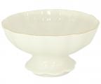 Lomonosov Porcelain Candy Ice Cream Vase Snow White 10.1 fl.oz/325 ml