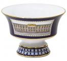 Lomonosov Imperial Porcelain Candy Vase Banquet Classic of Petersburg 10.8 fl.oz/320 ml