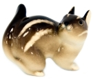 Chipmunk Lomonosov Imperial Porcelain Figurine #1