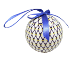 Christmas New Year Tree Decorative Ball Cobalt Net
