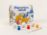DIY Paint Three Little Pigs Piglets Lomonosov Figurine