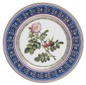 "Decorative Wall Plate Dog Rose 10.6""/270 mm Lomonosov Imperial Porcelain"