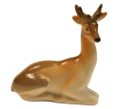 Deer Recumbent Tiny Lomonosov Imperial Porcelain Figurine