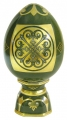 Easter Egg on Stand Byzantium 22 karat Gold Lomonosov Imperial Porcelain