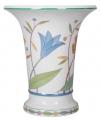 Flower Vase Empire Style BlueBells Lomonosov Porcelain