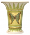 Flower Vase Empire Style Butterfly Lomonosov Imperial Porcelain