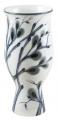 """Flower Vase Willow Lomonosov Imperial Porcelain 9.4"""" tall"""