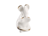 Golden Mouse Lomonosov Porcelain Figurine