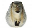 Hedgehog Lomonosov Imperial Porcelain Figurine
