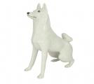 Husky Dog Lomonosov Porcelain Figurine