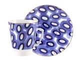Lomonosov Bone China Porcelain Coffee Cup May Cheer