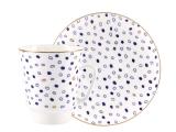 Lomonosov Bone China Porcelain Coffee Cup May Glare
