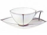 "Lomonosov Imperial Porcelain Bona China Tea Cup and Saucer ""Ark"""