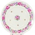 "Lomonosov Imperial Porcelain Cake Dessert Plate Romantic Date 7""/180 mm"