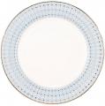 """Lomonosov Imperial Porcelain Dinner Plate Azur Blue v.2 10.6""""/270 mm"""