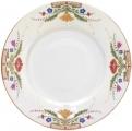 Lomonosov Imperial Porcelain Dinner Plate European Moscow River Flat 220 mm
