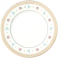 "Lomonosov Imperial Porcelain Dinner Plate Flower Waltz 7.9""/200 mm"