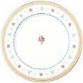 "Lomonosov Imperial Porcelain Dinner Plate Flower Waltz 10.6""/270 mm"