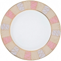 "Lomonosov Porcelain Dinner Plate Frosty Fairytale 10.6""/270 mm"