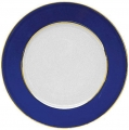 "Lomonosov Porcelain Flat Dinner Plate European Classic of Petersburg 8.7""/ 220 mm"