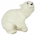 Polar Bear Baby Lomonosov Imperial Porcelain Figurine
