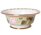 Lomonosov Imperial Porcelain Salad Bowl Jade Background (2 serv.) 9oz/270ml