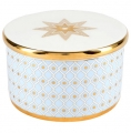 Lomonosov Porcelain Treasure Jewelry Box Azur