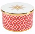 Lomonosov Porcelain Treasure Jewelry Box Scarlet