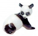 Panda Baby Lomonosov Imperial Porcelain Figurine