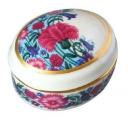 Lomonosov Imperial Porcelain Treasure Jewellery Bijou Oval Box Eternal Summer