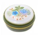 Lomonosov Imperial Porcelain Treasure Jewellery Oval Box Wind Flower