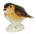 Robin Bird Big Lomonosov Imperial Porcelain Figurine