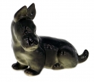 Scottish Terrier Dog Lomonosov Porcelain Figurine