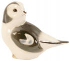 Snow Bunting Bird #1 Lomonosov Imperial Porcelain Figurine
