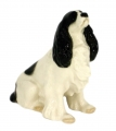 Spaniel Dog Lomonosov Porcelain Figurine