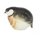 Stone Partridge Red Neck Bird Lomonosov Imperial Porcelain Figurine