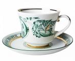 Lomonosov Imperial Porcelain Tea Cup Set Winter Palace 7.4 oz/220 ml