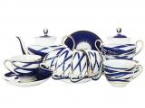Lomonosov Imperial Porcelain Tea Set Spring Cocoon 6/21