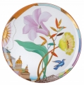 "Decorative Wall Plate Lilac Evening 10.8""/275 mm Lomonosov Imperial Porcelain"